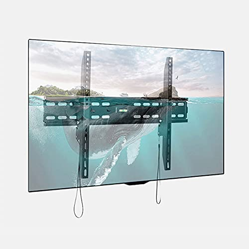 GQTYBZ Soporte de Pared para TV, Inclinación de 15 ° Soporte De Montaje en Pared para TV de 32-65 Pulgadas, Carga MáX 40 Kg Distancia MáXima, para Televisores de Pantalla LCD/Curvos Esperar