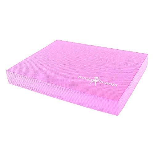 Hoopomania Balance Matte, Pad für Koordinationstraining und Therapie, PINK