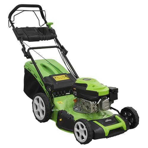 Dellonda Self Propelled Petrol Lawnmower Grass Cutter, 144cc 18'/46cm...