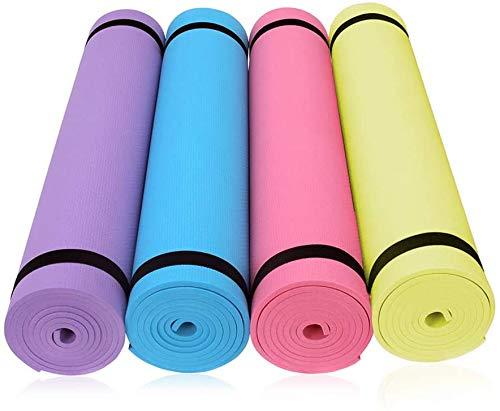 BEAUTYBIGBANG 2021 1 PCS Tapis de Yoga Ultra épais et antidérapant en EVA Tapis de Fitness Bio Tapis de Sport Tapis d'exercice au Sol (BU)