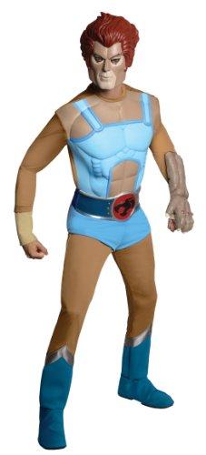 Rubie's Thundercats Deluxe Lion-O Costume, Blue, Standard