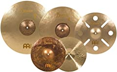 Hand hammered in Turkey from B20 Bronze Alloy — the Byzance Vintage Sand Series cymbals are aged by sand blasting the surfaces — the B20 bronze responds beautifully after the aging procedure, leaving the cymbals with a super human vintage sound and l...