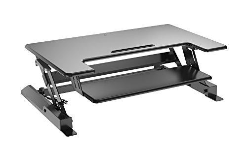 CASIII Best Adjustable Standing Desk Riser - Gas Spring Converter...