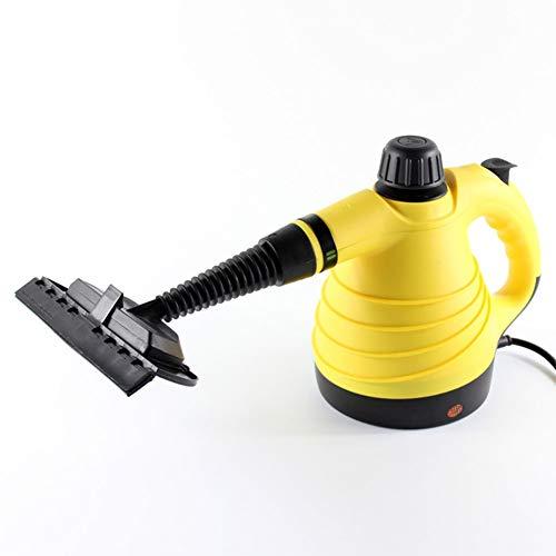 Dytxe-shelf Stoomreiniger, 1000 W, krachtig en veelzijdig, draagbaar, voor het verwijderen van vlekken in autobekleding, huishoudelijke apparaten, keukens, tapijten, sofas verdamper