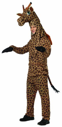 Rasta Imposta Giraffe Costume, Brown/Yellow, One Size - coolthings.us