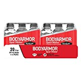 BODYARMOR SportWater Alkaline Water, Superior Hydration, High Alkaline Water pH 9+, Electrolytes, Perfect for your Active Lifestyle, (6 Count of 20 Fl Oz Bottles) 120 Fl Oz, Pack of 4
