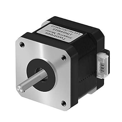 Twotrees Nema17, 4 fils motor Nema 17 with cable of 1 m 42BYGH 38 mm 1.5A (17HS4401S) for imprimante 3D CNC XYZ