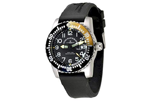 Zeno-Watch Orologio Donna - Airplane Diver Quartz Numbers -...