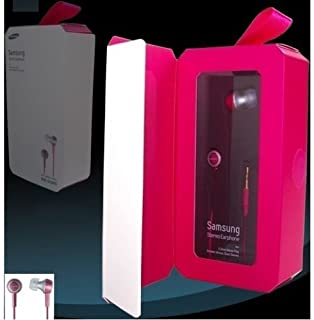 SAMSUNG SHE-D10DPN in-Ear Headphones Premium Sound SHED10 Deep Pink