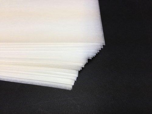 Silikon Schutz Papier zum Aufbügeln auf Stoffe Materialien 50 x A4 Blätter