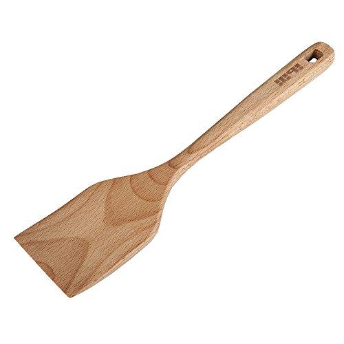 Ibili Pfannenwender, Holz, braun, 30 x 7 x 3 cm