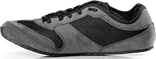 Magical Shoes Explorer Vegan Barfußschuhe | Damen | Herren | Jugendliche | Laufschuhe | Zero Drop | Flexibel | Rutschfest, Größen:42/270mm, Farbe:MS Explorer Vegan - Grau/Schwarz