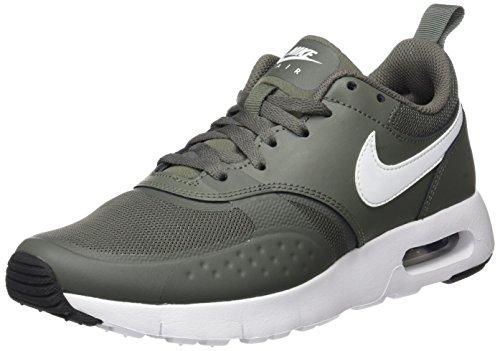 Nike Unisex-Kinder Air Max Vision (GS) Sneaker, Grün (River Rock/White-Outdoor Green-Black), 37.5 EU