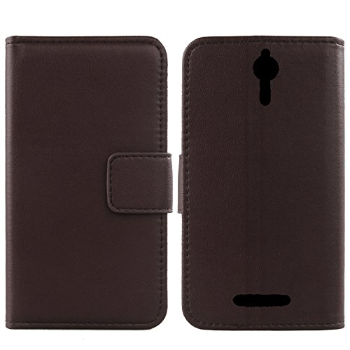 Gukas Design Echt Leder Tasche Für Acer Liquid Zest Plus 5.5