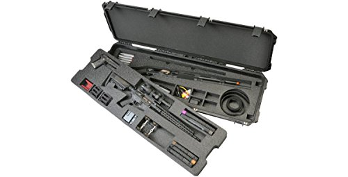 CVPKG Presents - Black SKB 3i-5014-3G 3-Gun Competition case & 2 TSA Locking Latches with keys.