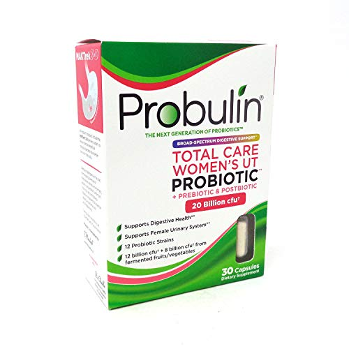 Probulin Total Care Women's UT Probiotic, 30 Capsules