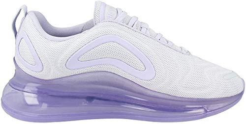 Nike Damen W Air Max 720 Leichtathletikschuhe, Mehrfarbig (Pure Platinum/Oxygen Purple 000), 39 EU