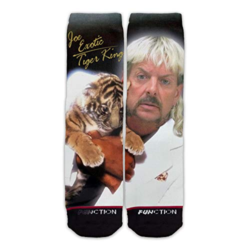 Function - Exotic Thriller Socks Mens Womens Joe Tall Michael Crew Tiger King Jackson Vote For 2020 President Funny Joke