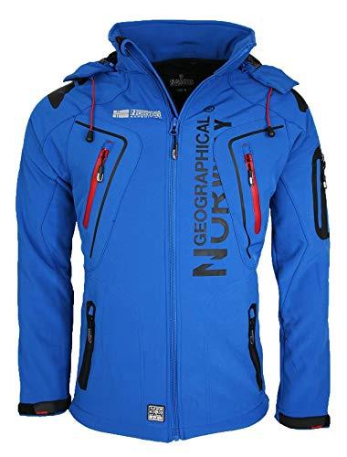 Geographical Norway Tambour - Chaqueta Softshell para Hombre, Hombre, Color Azul, tamaño...