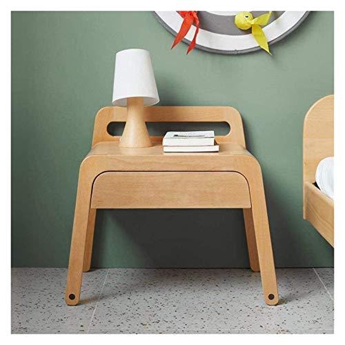 Nachttisch Nachttisch Massivholz Schubladenschrank mit starker Tragkraft für Schlafzimmer, Arbeitszimmer, praktische Möbel Beistelltisch