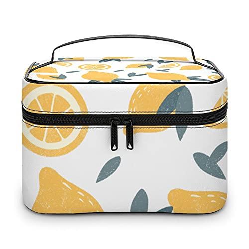 Bonita bolsa de aseo impermeable, bolsa de viaje con cremallera, organizador de maquillaje, bolsa de maquillaje para aparador, baño, hombres y mujeres, Estilo blanco, 25x18x15cm,