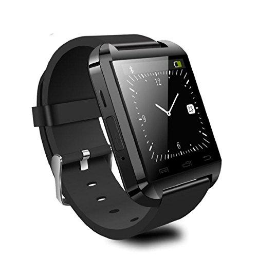 Bocideal(TM) 1X U-Watch U8 plus neue Produkt schwarz Smart bluetooth Armbanduhrtelefon für IOS Android iPhone Samsung