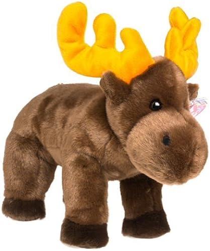 1 X Ty Beanie Buddies Chocolate - Moose by TYCLASSIC & BUDDY ANIMALS by TYCLASSIC & BUDDY ANIMALS