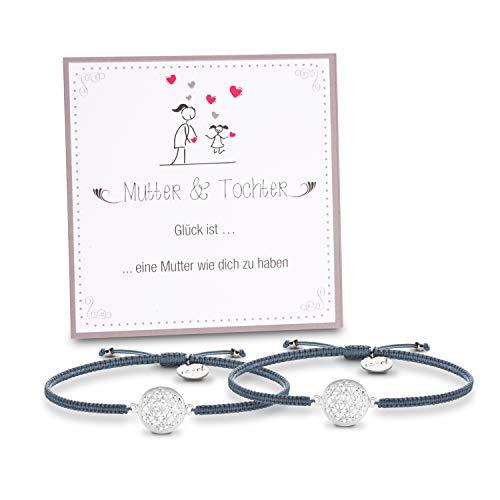 Mutter Tochter Lebensblume Armbänder Geschenk