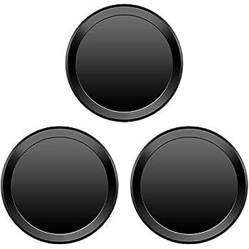 3枚セット 指紋認証機能対応 ホームボタンシール 取付簡単 3枚入り (ブラックフレーム/ブラック)