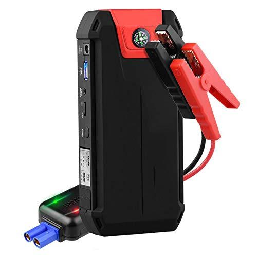 LUCKYY Arrancador de Coches 300A/13800mAh,12V Arrancador de Baterias de Coche Arrancador Batería Coche con Cargador de Batería de Coche Dos Salidas USB