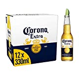 Corona Extra Mexican Lager Beer Bottle, 12 x