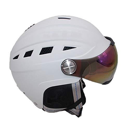 0826TK Skihelm, verbeterde versie, instelbaar, lichte outdoor-sportuitrusting, geschikt voor skiën, skateboarden en andere sporten