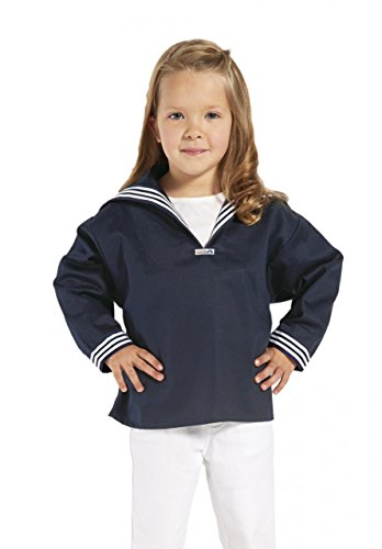 Blaues Kinder Matrosenhemd klassischer Stil von Modas Größe 152