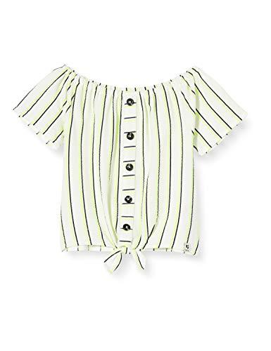 Garcia Kids Mädchen Q02402 T-Shirt, Weiß (Off White 53), 140 (Herstellergröße: 140/146)