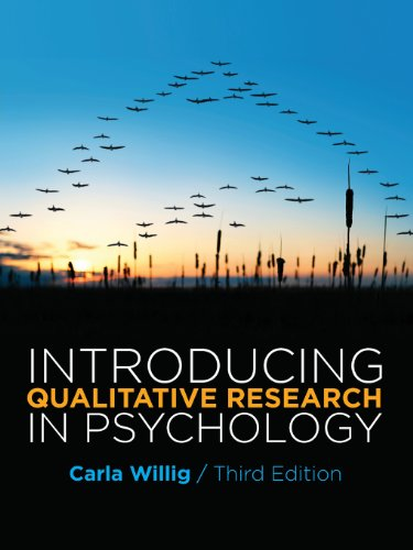 Introducing Qualitative Research in Psychology Third Edition