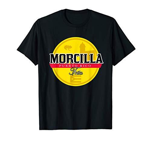 Morcilla Frita Funny Puerto Rican T-shirt Boricua Chinchorro T-Shirt