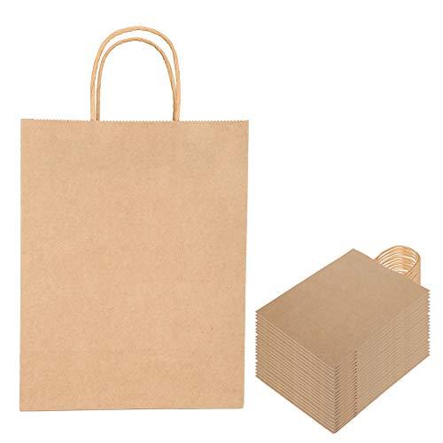 【𝐑𝐞𝐠𝐚𝐥𝐨 𝐝𝐞 𝐍𝐚𝒗𝐢𝐝𝐚𝐝】 Bolsa ecológica, Tienda de Ropa Embalaje Bolsa de Regalo Bolsa de Asas Bolsa de Compras ecológica 21 x 11 x 27,5 cm Bolsa de Papel de Color