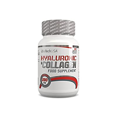 Hyaluronic & Collagen 30 Capsules - Hyaluronic Acid and Collagen - BiotechUSA