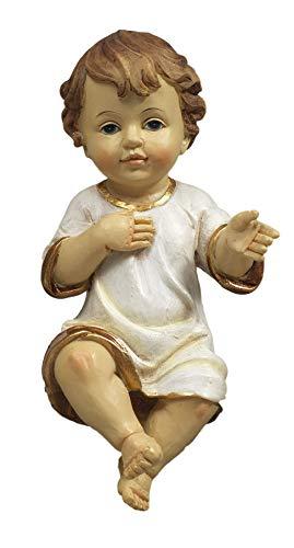 Gesù Bambino Bambinello in Resina cm. 29 by Paben