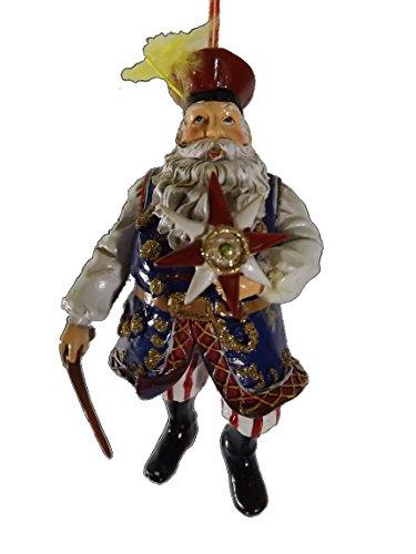 On Holiday Polish Santa Clause with Gwiazda Star Ethnic Customs of Poland Christmas Tree Ornament