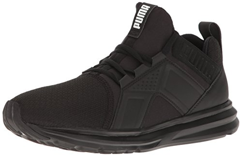 PUMA Men's ENZO Sneaker, Black, 11 M US