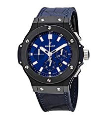 Hublot Caliber HUB 4100 , beats at 28,800 vph, composed out of 252 parts, contains 28 Jewels & has an approximate power reserve of 42 hours. Ceramic Case