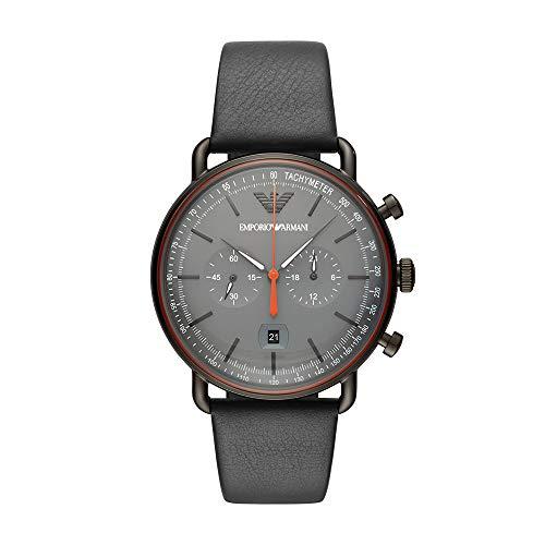 Emporio Armani Reloj Analógico para Hombre de Cuarzo con Correa en Acero Inoxidable AR11168