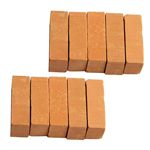 Sharplace -   10er-Set Ziegelrot