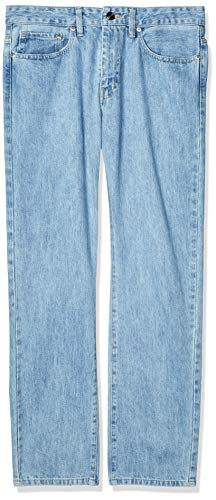 Silver Plate Rocco 701 Pantalones para Hombre, Color Stone Bleach, 38