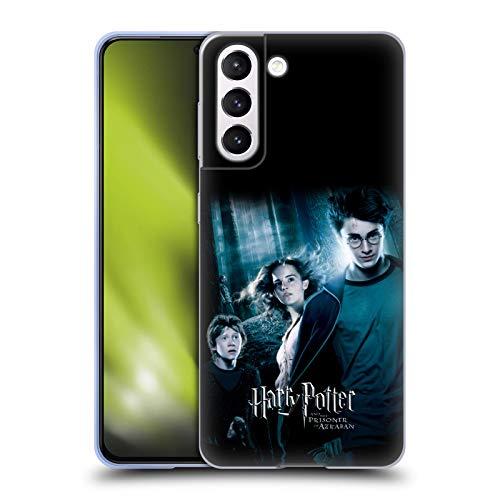 Offizielle Harry Potter Ron, Harry und Hermione Poster 2 Prisoner of Azkaban IV Soft Gel Handyhülle Hülle Huelle kompatibel mit Samsung Galaxy S21 5G