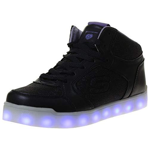 Skechers Mädchen Energy Lights Hohe Sneaker, Blau - 8
