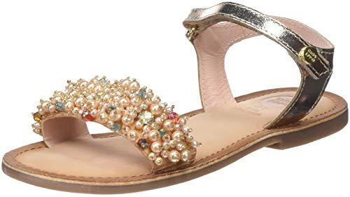 GIOSEPPO 43892-P0001 Sandalen mit offener Spitze, für Mädchen, goldfarben, 37 EU