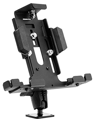Arkon Locking Adjustable Tablet Mount with Key Lock for E-Log for Galaxy Tab LG G Pad iPad Models Retail Black