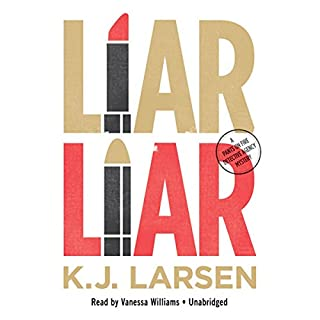 Liar, Liar audiobook cover art